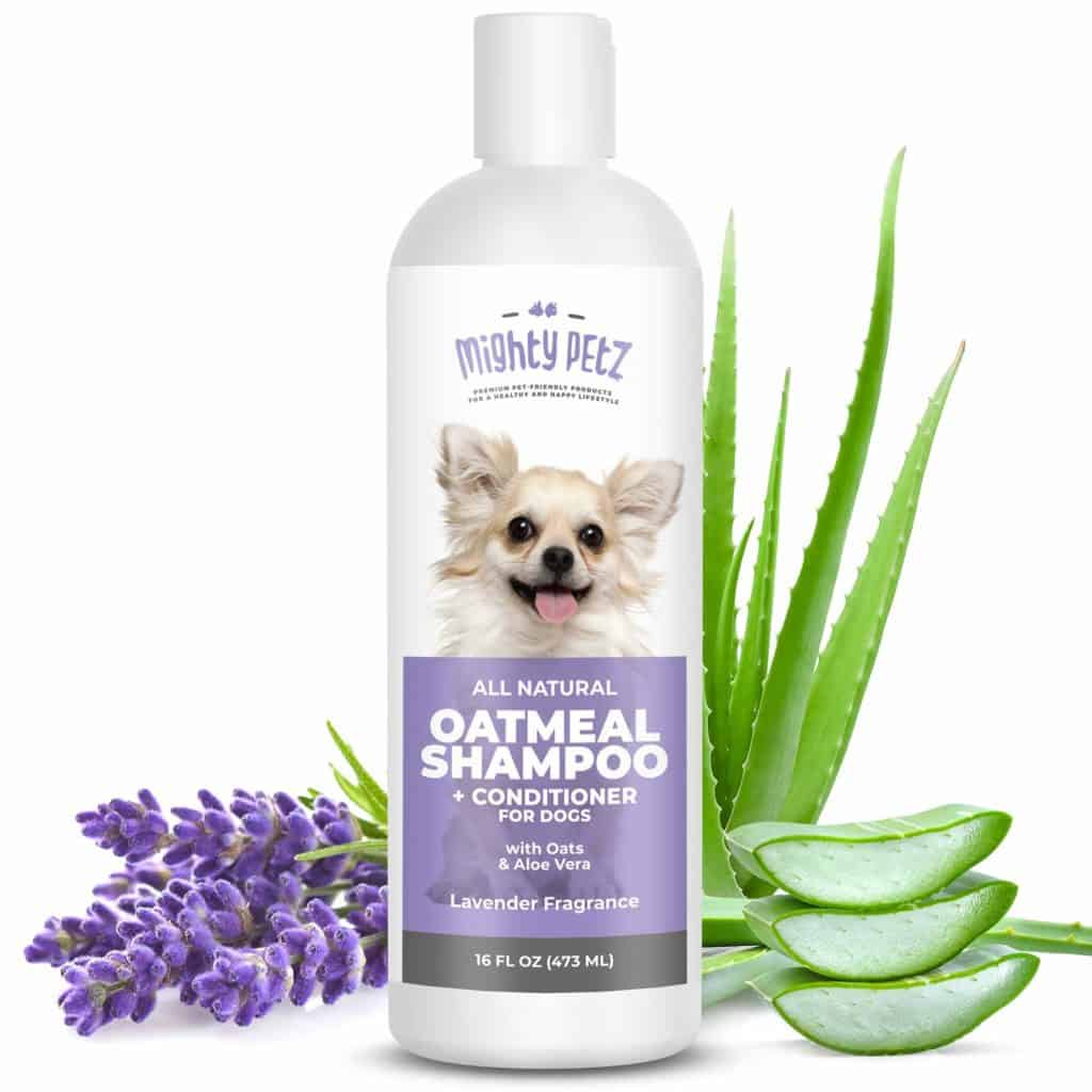 Mighty Petz 2-in-1 Oatmeal Dog Shampoo and Conditioner