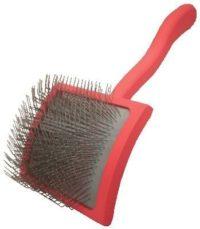 Large Red Chris Christensen Big G Slicker Brush