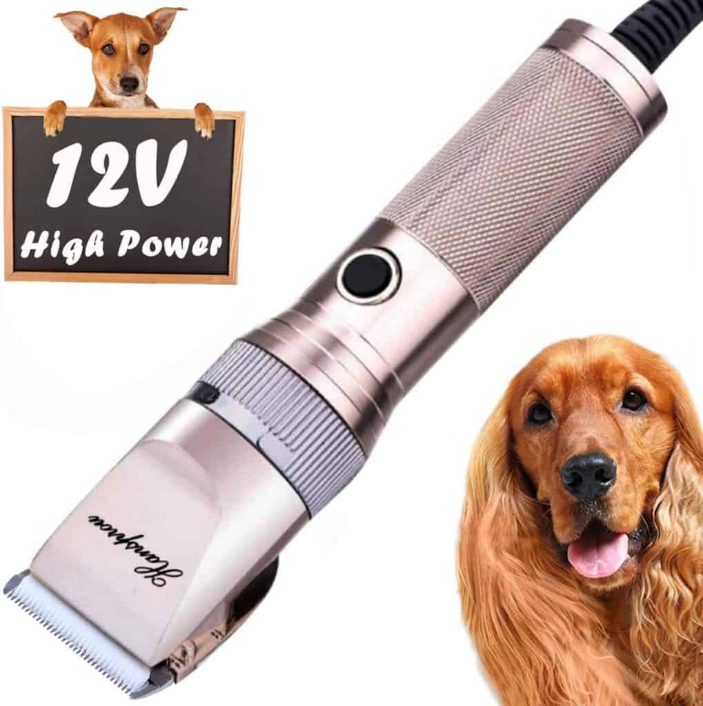 HANSPROU Dog Shaver Clippers High Power Dog Clipper