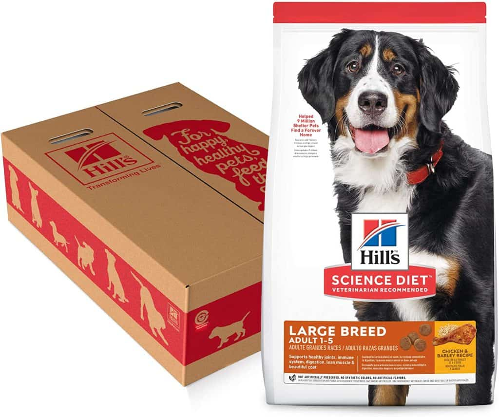 Hill's Science Diet Dry Dog Food, Adult, Large Breed, Chicken & Barley Recipe