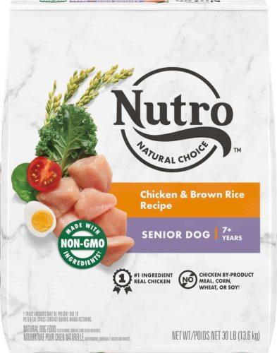 Nutro Natural Choice Senior Chicken & Brown Rice Recipe Dry Dog Food