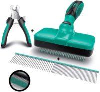 Ruff 'N Ruffus Self-Cleaning Slicker Brush