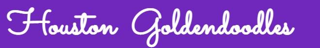 Houston Goldendoodles logo