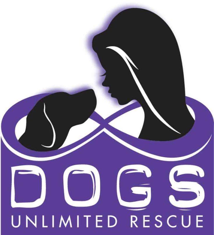Dogs Unlimited Rescue Ohio logo