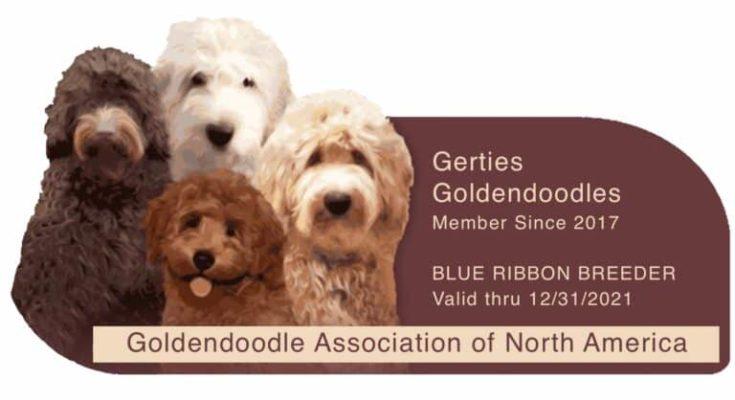 Gertie's Goldendoodles logo