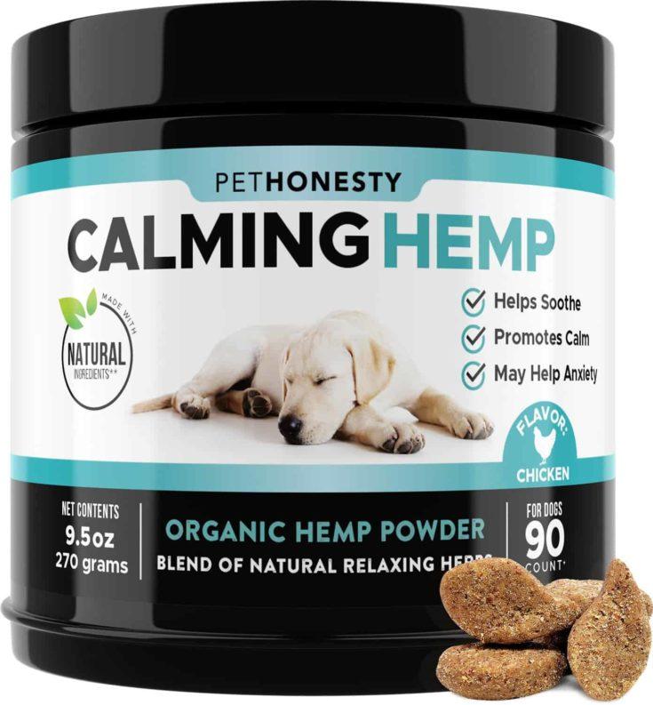 PetHonesty Calming Hemp Chicken Flavored