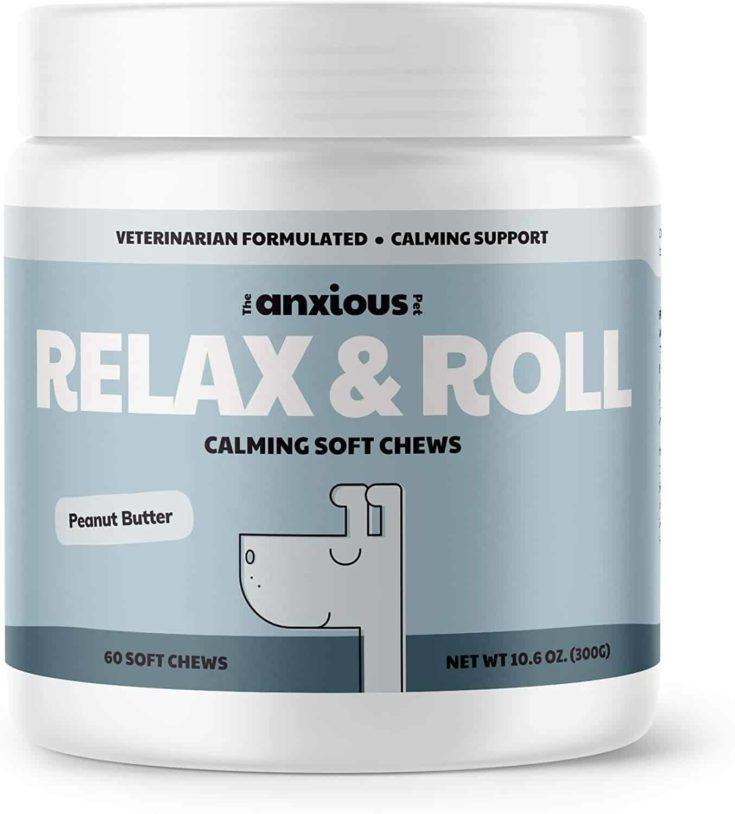 Relax & Roll Calming Dog Treats
