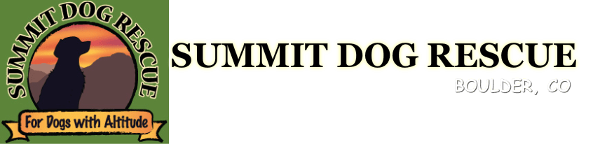 Summit Dog Rescue Colorado logo