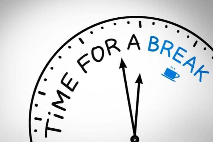 Time To Break clock